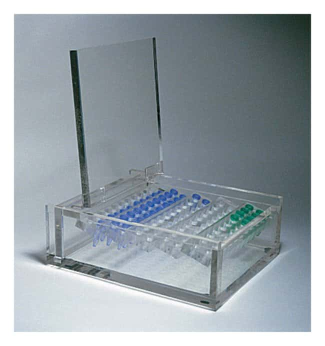 Fisherbrand Enclosed Freezer Box  Freezer boxes; Clear acrylic:Life Sciences