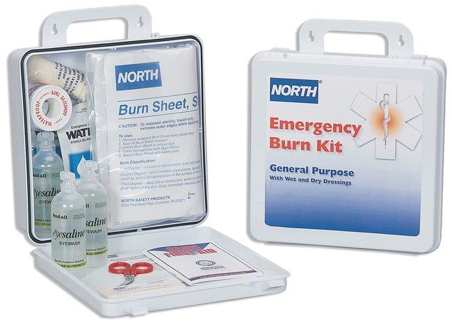 North General Purpose Emergency Burn Kit  Emergency Burn Kit; 24-unit:Teaching