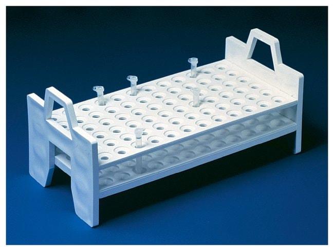 FisherbrandPolypropylene Microtube Support Racks:Racks:Microtube Racks