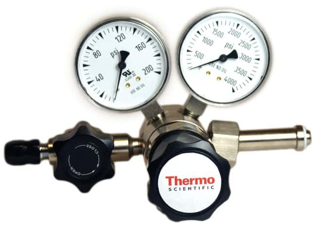 Thermo Scientific™ High Purity Two Stage Brass Gas Regulators Delivery Range 0-200psig; CGA 350 with Triple Filter Thermo Scientific™ High Purity Two Stage Brass Gas Regulators