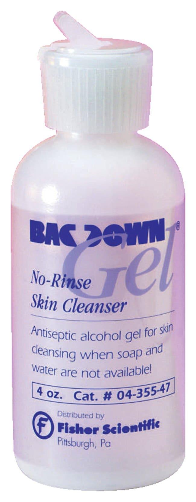 Bacdown Gel No-Rinse Skin Cleansers   Bacdown Gel; 4 oz.:Teaching Supplies