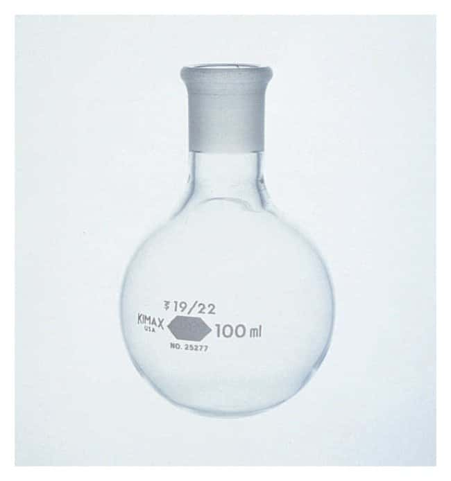 DWK Life Sciences Kimble KIMAX Flasks with standard taper Joints 100mL;