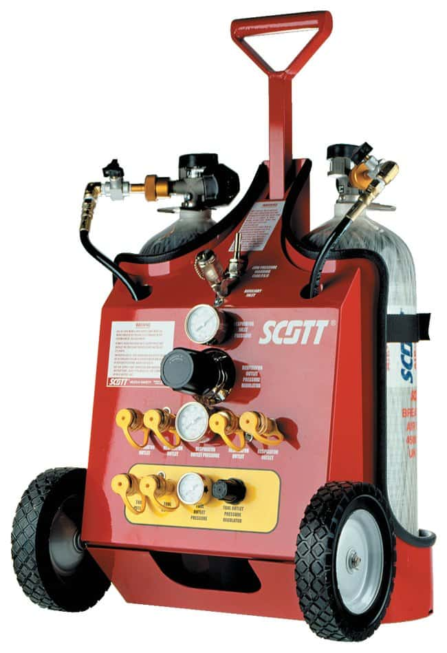 Scott Safety Mobile Air Carts:Gloves, Glasses and Safety:Respiratory Protection