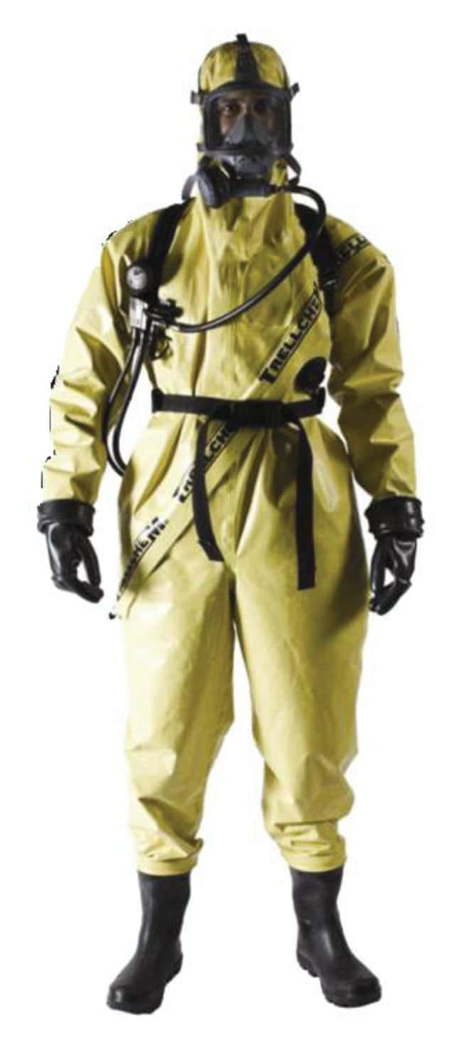 Ansell Trellchem Super-T Level B Suits:Gloves, Glasses and
