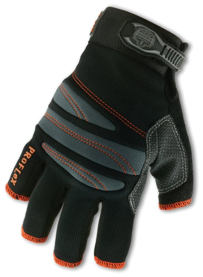 Ergodyne ProFlex 712  3/4-Finger Trades Gloves:Gloves, Glasses and Safety:Gloves