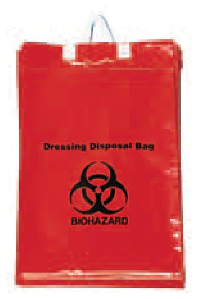 Minigrip Dressing Disposal Bags 11 W x 15 in. H; 50 Bags/Clip, 10 Clips/Cs.:Gloves,