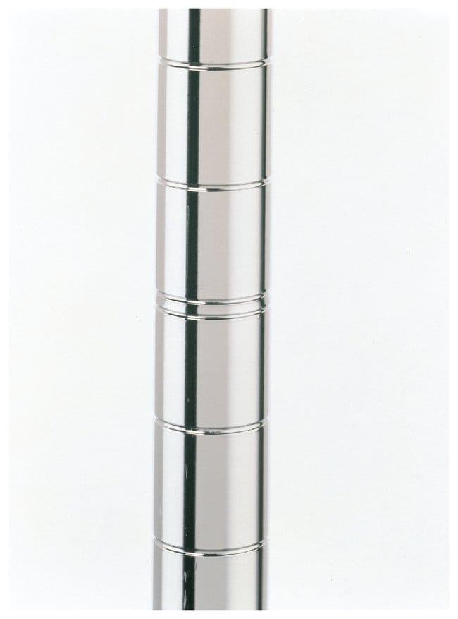 Metro™Super Erecta™ SiteSelect™ Posts Stationary; Chrome; Height: 27.5 in. (70cm) Metro™Super Erecta™ SiteSelect™ Posts