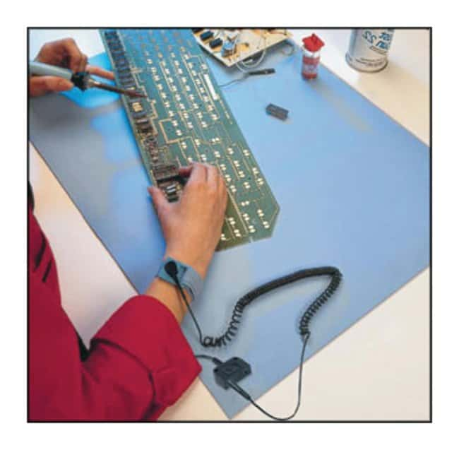 Wearwell™ ESD Work Surface Mat with Snap