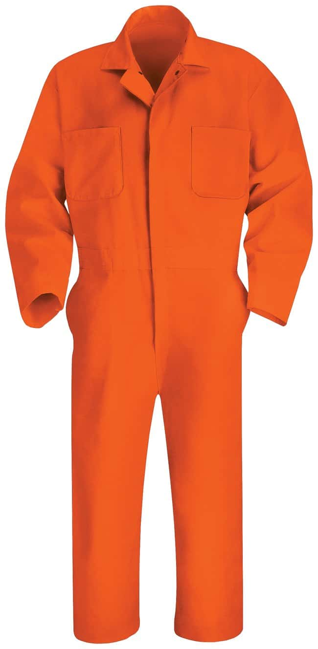 VF Workwear Red Kap Twill Action Back Coveralls Orange; Regular; Size: