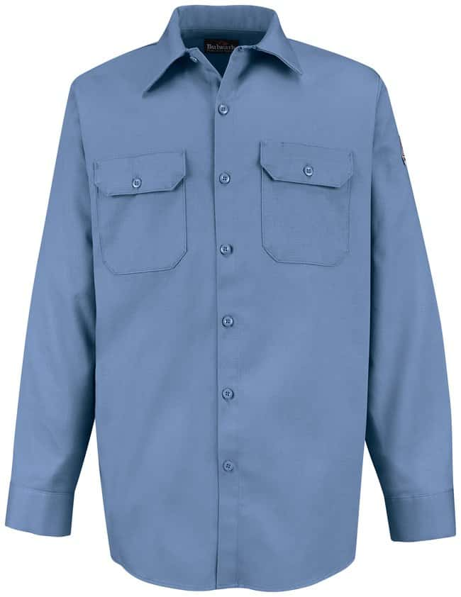VF Workwear Bulwark Excel FR Flame-Resistant Work Shirts Light blue; Regular;