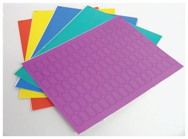 Fisherbrand™Micryo™ Labels Strips and Dots for Cryo Storage, Laser Printer Sheets