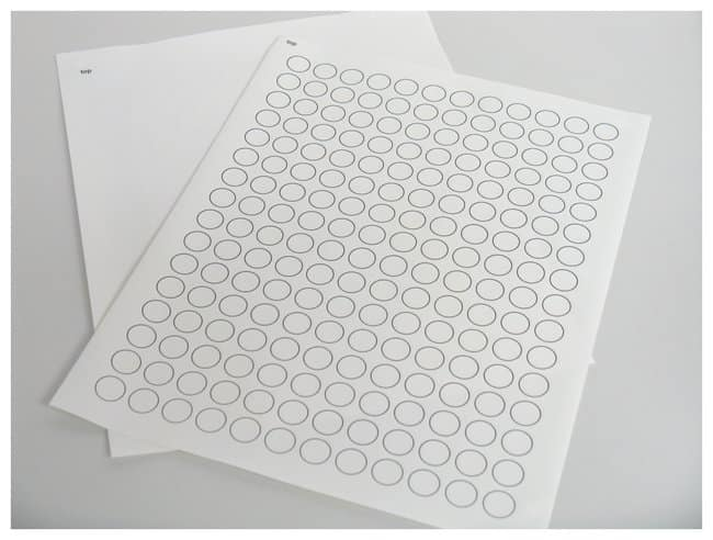 Fisherbrand™ Micryo™ Labels Strips and Dots for Cryo Storage, Laser Printer Sheets
