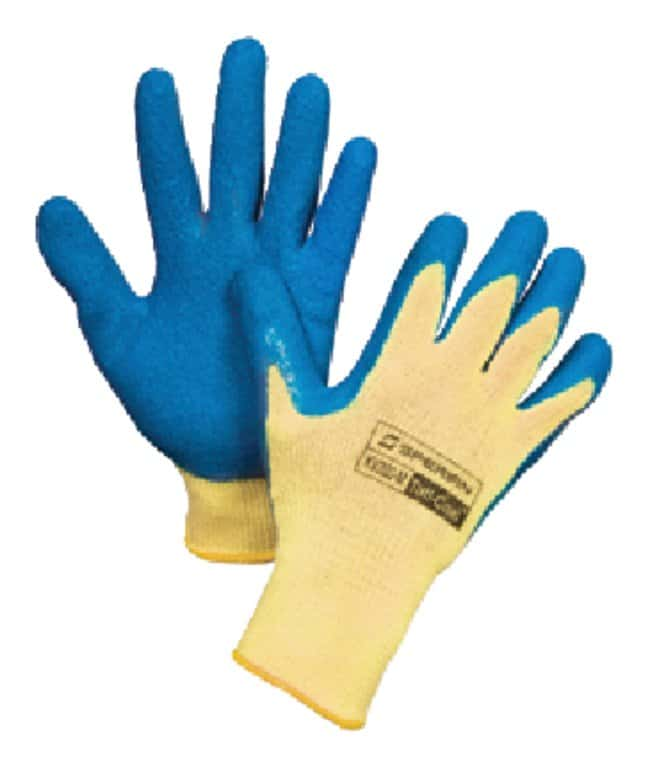 Honeywell Tuff-Coat Cut-Resistant Gloves Large; Yellow cuff:Gloves, Glasses