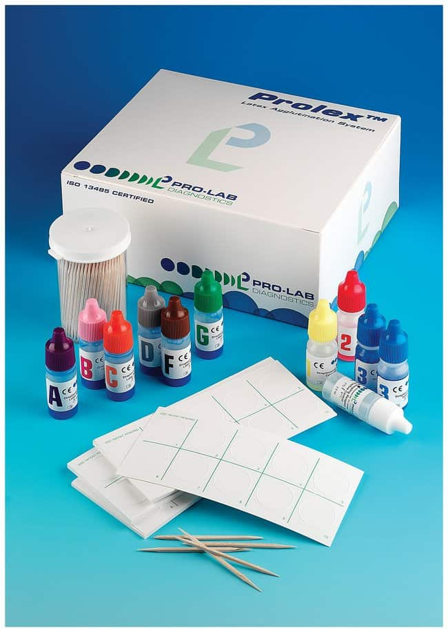 Pro-Lab Diagnostics Prolex Complete Streptococcal Grouping Latex Kit Strep