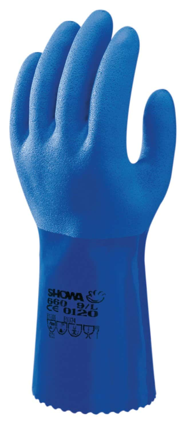 SHOWA Atlas 660 PVC Gloves Large:Gloves, Glasses and Safety