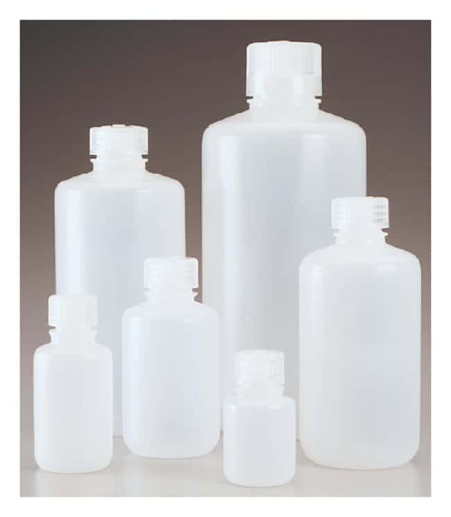 Thermo Scientific™Nalgene™ Narrow-Mouth PPCO Economy Bottles with Closure: Bottles Bottles, Jars and Jugs