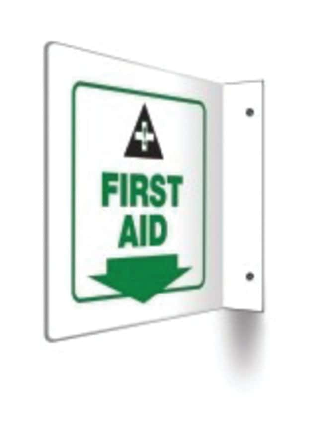 Accuform Signs Safety Projection Sign: First Aid
