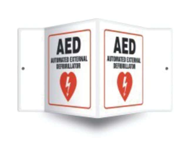 Accuform SignsSafety Projection Sign: AED Automated External Defibrillator