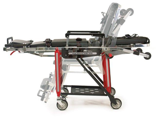 Ferno 28-Z ProFlexx Red Chair Cot Ferno Model 28-Z; Red:First Responder