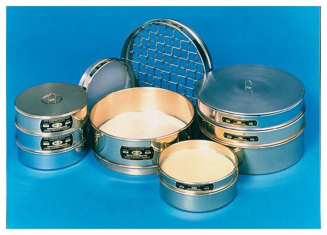 Fisherbrand U.S. Standard Brass Test Sieves, 12 in. dia. x 3.25 in.D :Spatulas,