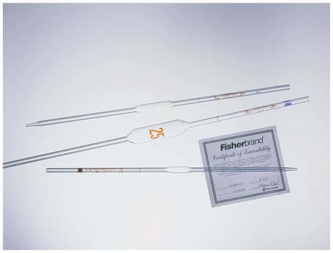 Fisherbrand Reusable Class A Volumetric Pipets :BioPharmaceutical Production:Production