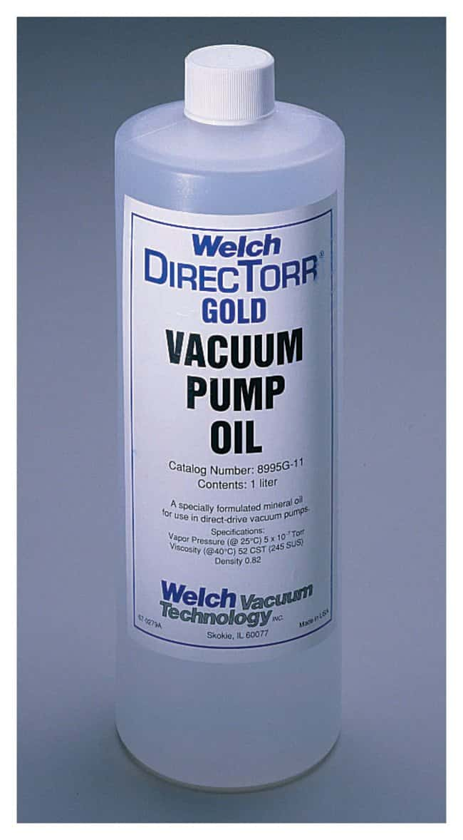 Welch™ DirecTorr™ Gold Synthetic Pump Oil