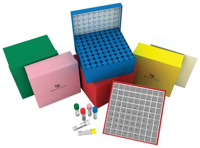 DWK Life Sciences Wheaton™ CryoFile™ and CryoFile XL™ Storage Boxes