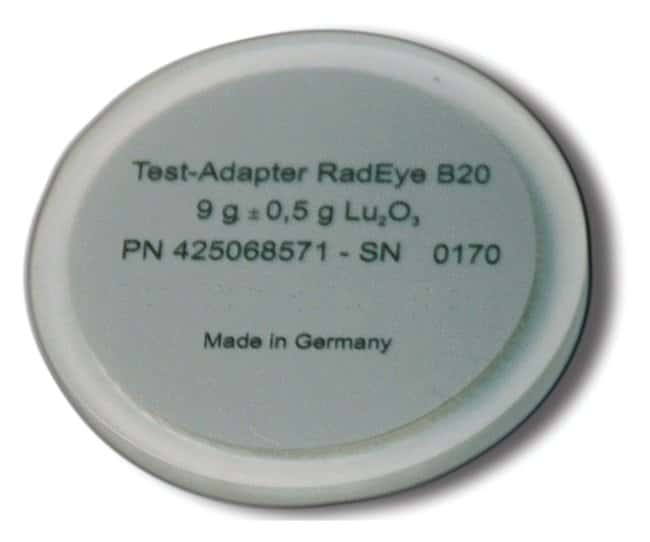 Thermo Scientific™Lutetium Test Adapters For RadEye B20; 9g Thermo Scientific™Lutetium Test Adapters