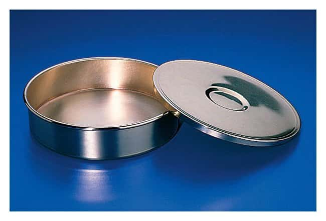 Fisherbrand™U.S. Standard Brass and Stainless Steel Test Sieve Receivers
