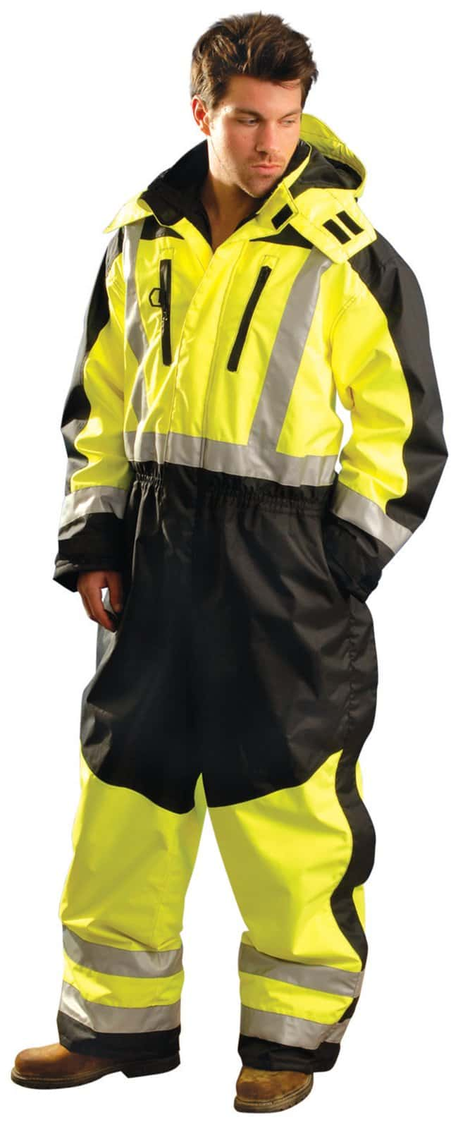 OccuNomix Speed Collection Premium Cold Weather Coveralls Large:Gloves,