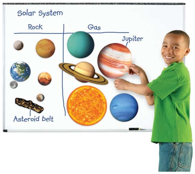 Giant Magnetic Solar System Grades K+; 12/set:Education Supplies