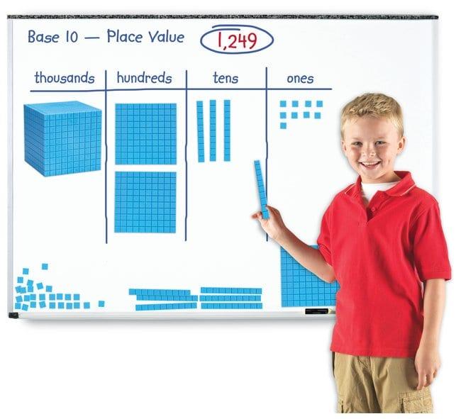 Giant Magnetic Base Ten Giant Magnetic Base Ten:Education Supplies