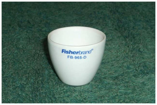 Fisherbrand™ High-Form Porcelain Crucibles 15 x 15 x 1.5mm; 4g; Case wt.: 1.4kg; Capac.: 1.3mL Fisherbrand™ High-Form Porcelain Crucibles