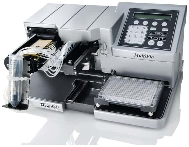 BioTek MultiFlo Microplate Dispenser  w/Peristaltic pump dispenser:Laboratory