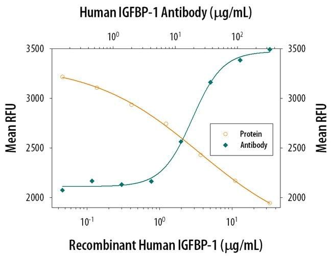 IGFBP-1 Mouse anti-Human, Clone: 33627, RD Systems:Antibodies:Primary Antibodies