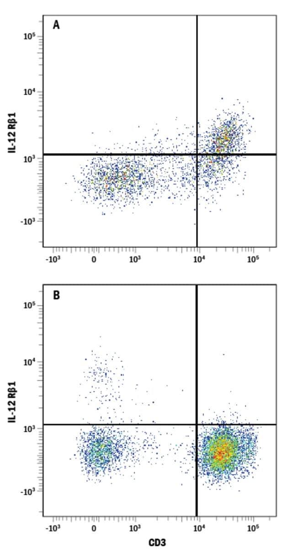 anti-IL-12 R beta 1, PE, Clone: 69310, RD Systems 100 Tests; PE:Antibodies