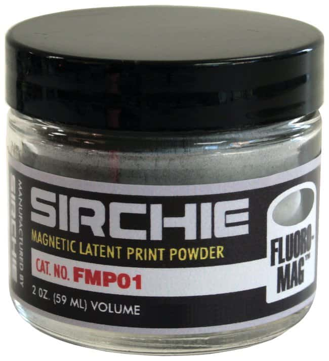 Silver/Gray Fluormag™ Magnetic Latent Print Powder