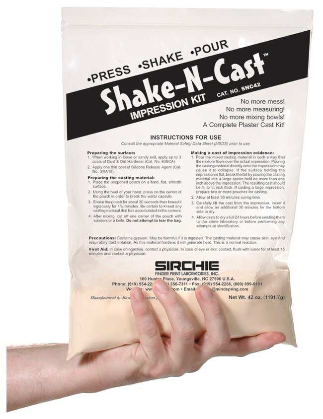 Shake-N-Cast Impression Kit Impression kit:Education Supplies