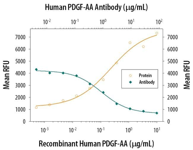 PDGF-AA Mouse anti-Human, Clone: 114506, RD Systems:Antibodies:Primary