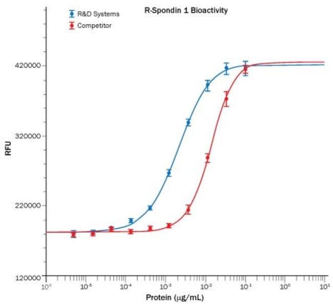 R Human R-Spondin 1 Recombinant Protein  25ug:Life Sciences