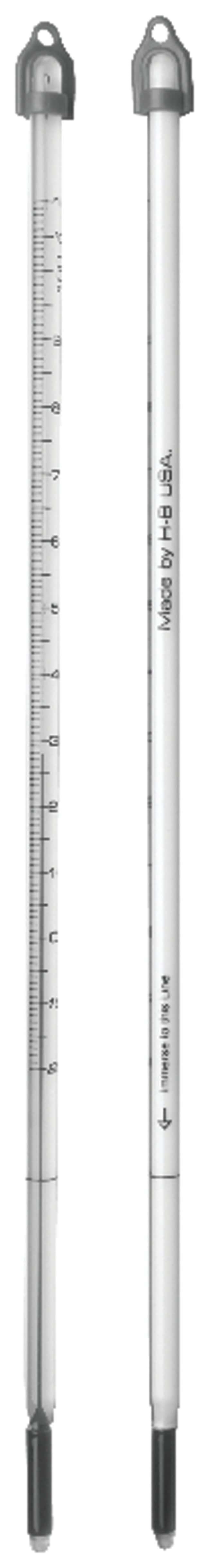 Fisherbrand Spirit Thermometers: Student Grade -20deg. to +150deg.C; Student