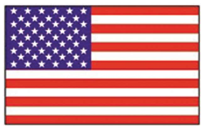 Accuform Signs Hardhat Labels American Flag; Size: 1 x 1.75 in.:Gloves,