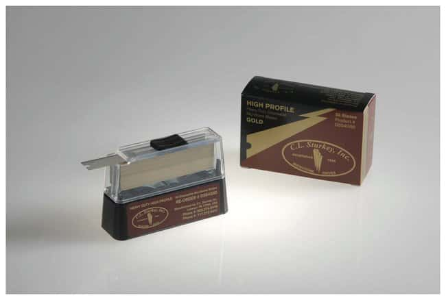 C.L. Sturkey C.L. Sturkey Gold Disposable Microtome Blades Heavy Duty High