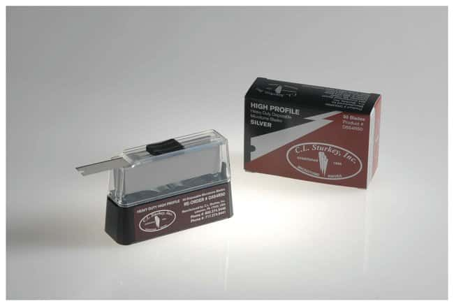 C.L. Sturkey C.L. Sturkey Silver Disposable Microtome Blades  Heavy-Duty