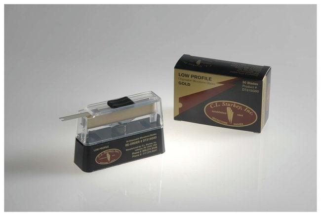 C.L. Sturkey C.L. Sturkey Gold Disposable Microtome Blades  Low Profile;