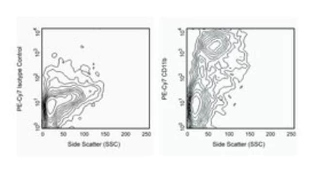 CD11b Ratte-Anti-Maus, PE-Cy7, Klon: M1/70, BD 0.1mg; PE-Cy7 CD11b Ratte-Anti-Maus, PE-Cy7, Klon: M1/70, BD