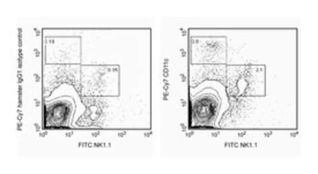CD11c Hamster anti-Mouse, PE-Cy7, Clone: HL3, BD 25μg; PE-Cy7 CD11c Hamster anti-Mouse, PE-Cy7, Clone: HL3, BD