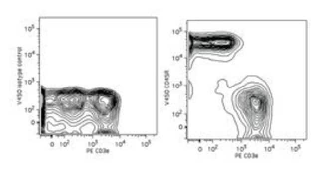 CD45R Rat anti-Mouse, V450, Clone: RA3-6B2, BD 0.1mg; V450 CD45R Rat anti-Mouse, V450, Clone: RA3-6B2, BD