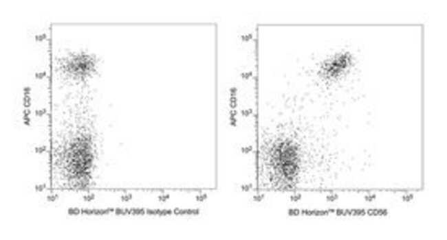 CD56 Mouse anti-Human, BUV395, Clone: NCAM16.2, BD 100 Tests; BUV395:Antibodies