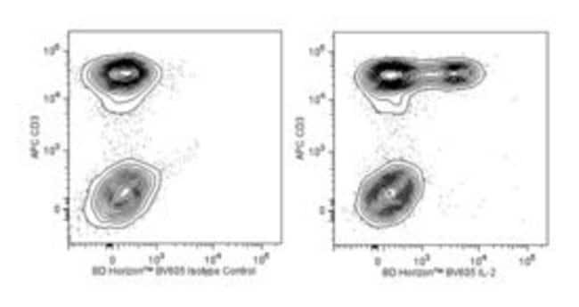 IL-2 Rat anti-Human, Brilliant Violet 605, Clone: MQ1-17H12, BD 100 Tests;